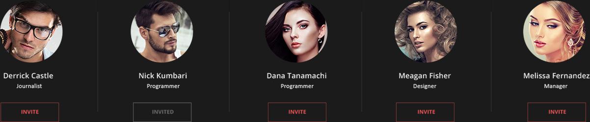 Invite people